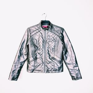 4/$25 B COLLECTION Faux Leather Moto Jacket